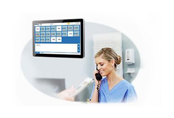 Diligent industrial control to help nurses station electronic whiteboard to provide better quality care services