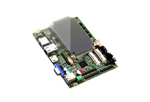 What are the benefits of using an embedded motherboard?